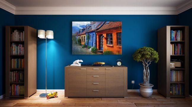 Hyr en maler til stuen